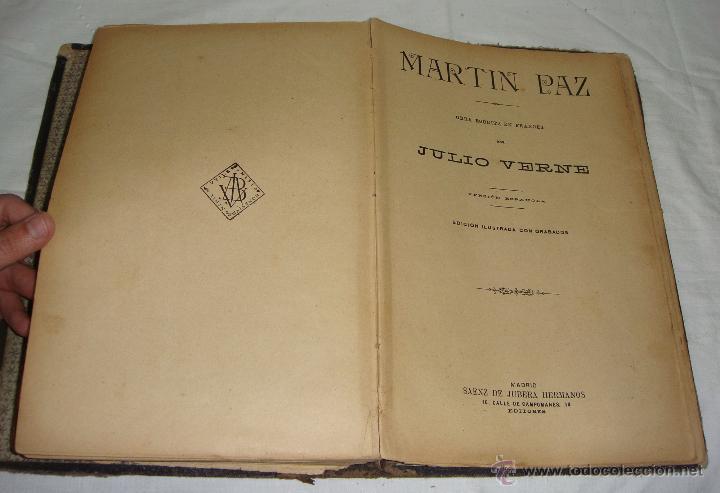 Libros antiguos: Obras de Julio Verne. Con 7 obras. Compañía Trasatlántica. - Foto 8 - 46916577