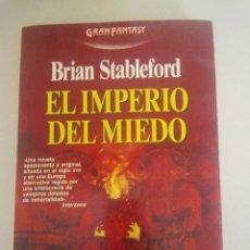 Libros antiguos: TERROR EL IMPERIO DEL MIEDO STABLEFORD. Lote 48219936