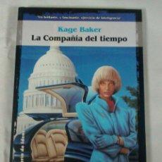 Libros antiguos: LA COMPAÑIA DEL TIEMPO DE KAGE BARKER , SOLARIS 31 DE LA FACTORIA DE IDEAS. Lote 50497217