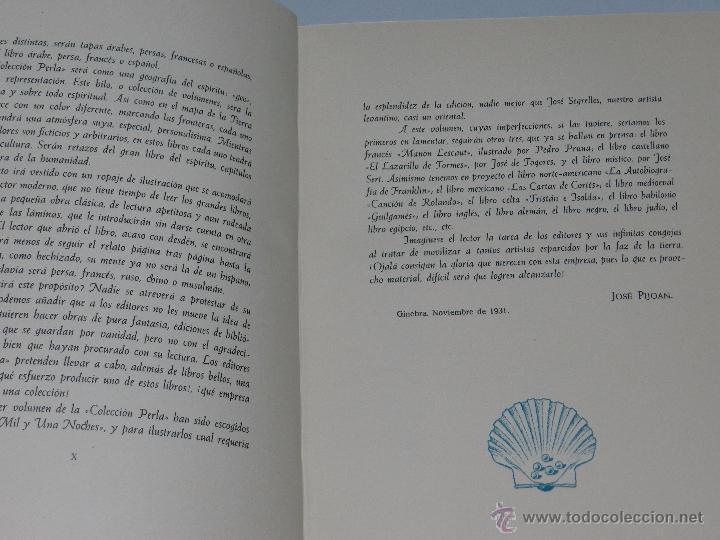 Libros antiguos: (alb 1-5) LIBRO LAS MIL Y UNA NOCHES , ILUSTRADO POR JOSE SEGRELLES 1932, MUY BUEN ESTADO - Foto 6 - 51525497