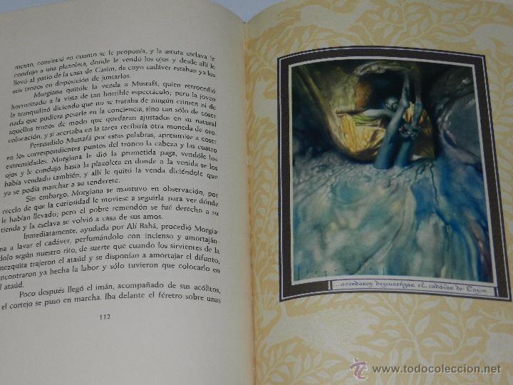Libros antiguos: (alb 1-5) LIBRO LAS MIL Y UNA NOCHES , ILUSTRADO POR JOSE SEGRELLES 1932, MUY BUEN ESTADO - Foto 7 - 51525497