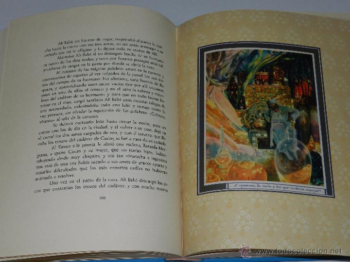 Libros antiguos: (alb 1-5) LIBRO LAS MIL Y UNA NOCHES , ILUSTRADO POR JOSE SEGRELLES 1932, MUY BUEN ESTADO - Foto 8 - 51525497