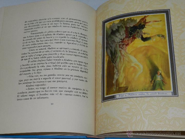 Libros antiguos: (alb 1-5) LIBRO LAS MIL Y UNA NOCHES , ILUSTRADO POR JOSE SEGRELLES 1932, MUY BUEN ESTADO - Foto 9 - 51525497