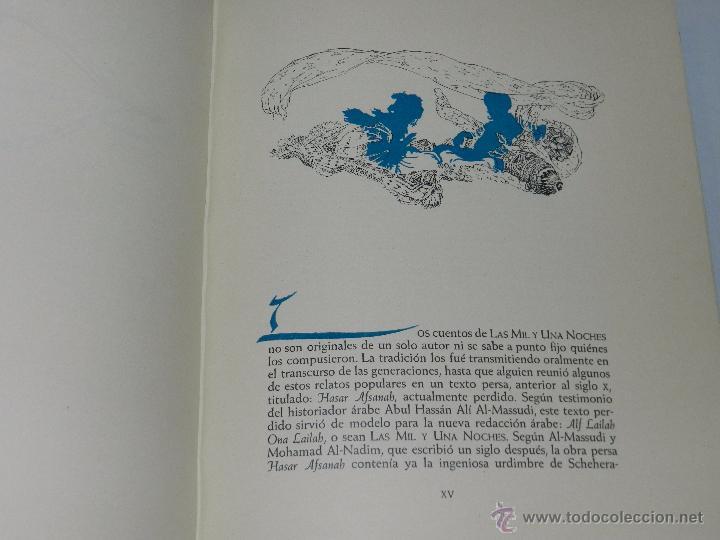Libros antiguos: (alb 1-5) LIBRO LAS MIL Y UNA NOCHES , ILUSTRADO POR JOSE SEGRELLES 1932, MUY BUEN ESTADO - Foto 11 - 51525497