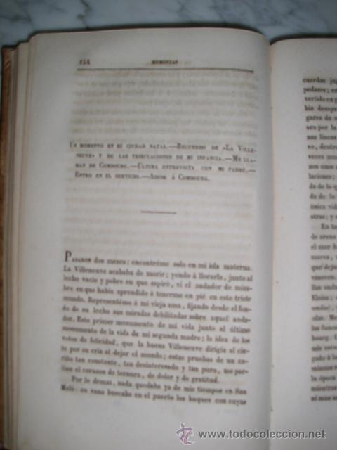 Libros antiguos: MUY ESPECIAL - MEMORIAS DE ULTRATUMBA - VIZCONDE DE CHAUTEBRIAND - 1848 - COLECCIONISTAS - Foto 5 - 52027577