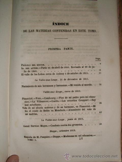 Libros antiguos: MUY ESPECIAL - MEMORIAS DE ULTRATUMBA - VIZCONDE DE CHAUTEBRIAND - 1848 - COLECCIONISTAS - Foto 6 - 52027577