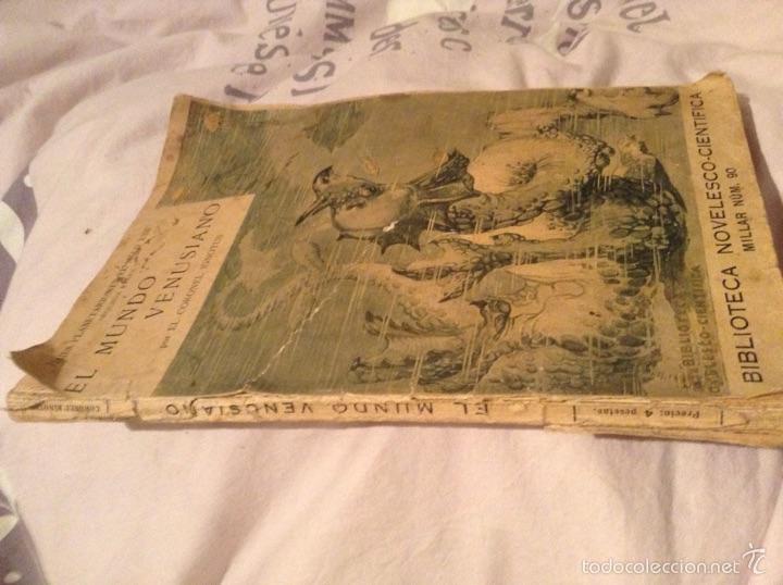 Libros antiguos: El mundo Venusiano por el coronel Ignotus . 1920. Viajes planetarios en el siglo XXII - Foto 3 - 54311216