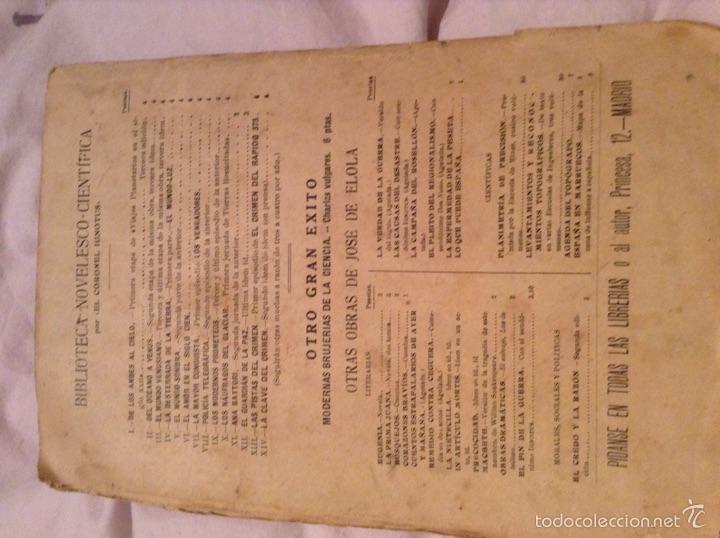 Libros antiguos: El mundo Venusiano por el coronel Ignotus . 1920. Viajes planetarios en el siglo XXII - Foto 6 - 54311216