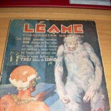 Libros antiguos: LEAME ABRIL 1928 1ª EDICIÓN DEL CEREBRO SUPREMO DE MARTE AGUILAR. Lote 54944178