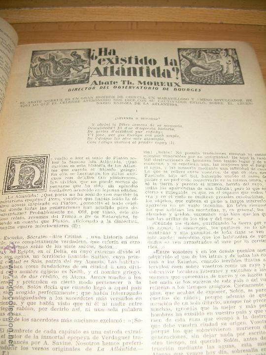 Libros antiguos: Leame Abril 1928 1ª edición del Cerebro Supremo de Marte Aguilar - Foto 2 - 54944178