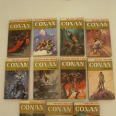 Libros antiguos: CONAN (BRUGUERA) 1973 PORTADAS DE FRANK FRAZETTA. Lote 56375123
