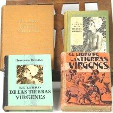 Libros antiguos: 7522 - EL LIBRO DE LAS TIERRAS VÍRGENES. 4 VOLUM(VER DESCRIP). EDI. G. GILI. 1921-1949.. Lote 56813458