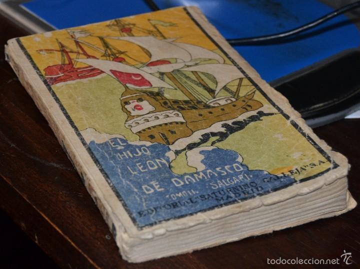 EL HIJO DEL LEON DE DAMASCO - TOMO II - E. SALGARI. - ED. SATURNINO CALLEJA MADRID 1924. SANTANDER (Libros antiguos (hasta 1936), raros y curiosos - Literatura - Narrativa - Ciencia Ficción y Fantasía)