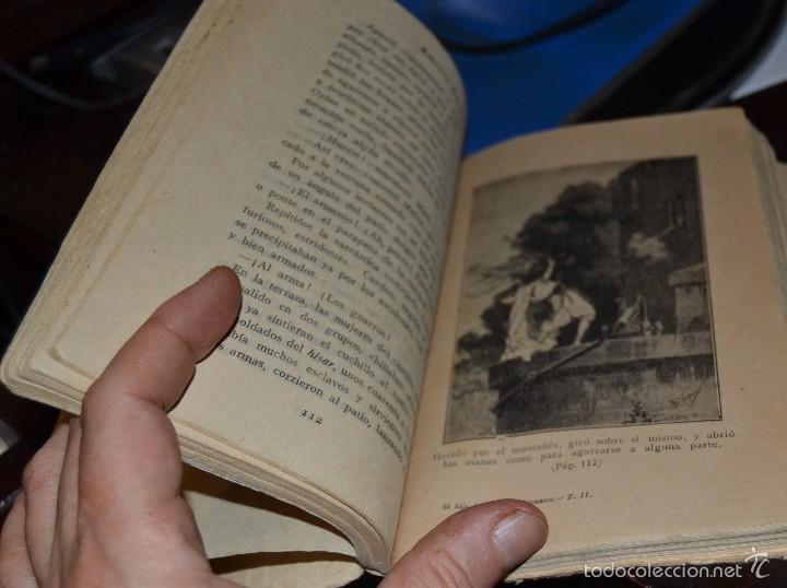 Libros antiguos: El hijo del Leon de Damasco - tomo II - E. Salgari. - Ed. Saturnino Calleja MADRID 1924. SANTANDER - Foto 4 - 56832234