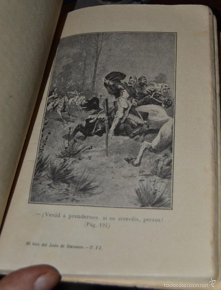 Libros antiguos: El hijo del Leon de Damasco - tomo II - E. Salgari. - Ed. Saturnino Calleja MADRID 1924. SANTANDER - Foto 5 - 56832234