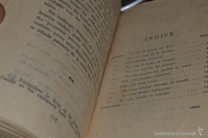 Libros antiguos: El hijo del Leon de Damasco - tomo II - E. Salgari. - Ed. Saturnino Calleja MADRID 1924. SANTANDER - Foto 6 - 56832234