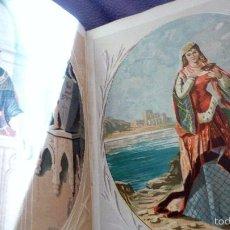 Libros antiguos: 2 TOMOS LAS HADAS DEL MAR . PRECIOSAS CROMOLITOGRAFIAS SIMON . ED VERDAGUER . 1878 VER FOTOS. Lote 57111615