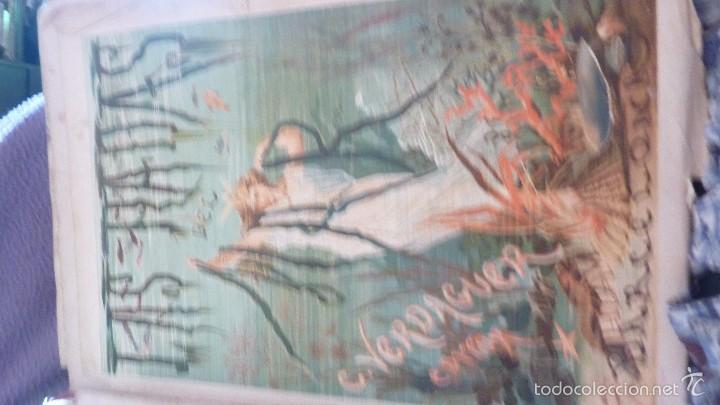Libros antiguos: 2 tomos las hadas del mar . preciosas cromolitografias simon . ed verdaguer . 1878 ver fotos - Foto 2 - 57111615