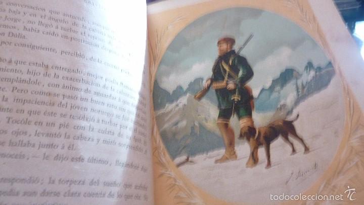 Libros antiguos: 2 tomos las hadas del mar . preciosas cromolitografias simon . ed verdaguer . 1878 ver fotos - Foto 4 - 57111615