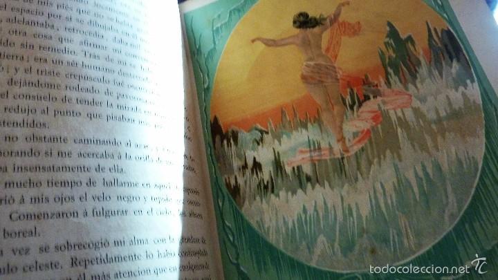 Libros antiguos: 2 tomos las hadas del mar . preciosas cromolitografias simon . ed verdaguer . 1878 ver fotos - Foto 6 - 57111615