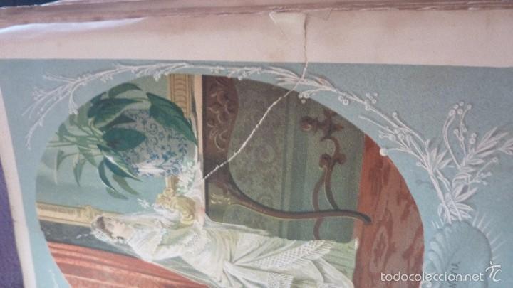 Libros antiguos: 2 tomos las hadas del mar . preciosas cromolitografias simon . ed verdaguer . 1878 ver fotos - Foto 8 - 57111615