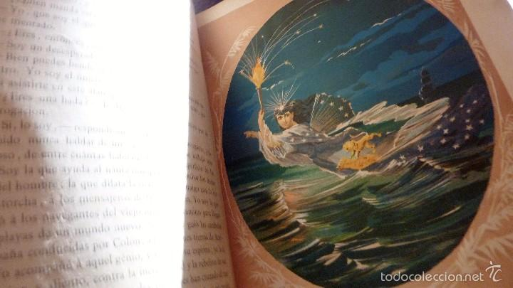 Libros antiguos: 2 tomos las hadas del mar . preciosas cromolitografias simon . ed verdaguer . 1878 ver fotos - Foto 10 - 57111615