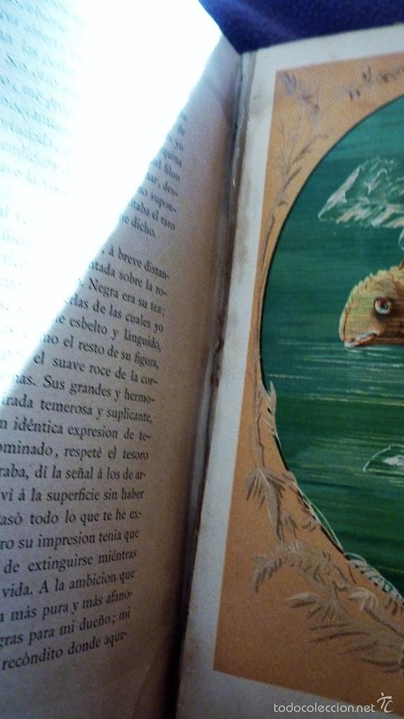 Libros antiguos: 2 tomos las hadas del mar . preciosas cromolitografias simon . ed verdaguer . 1878 ver fotos - Foto 11 - 57111615