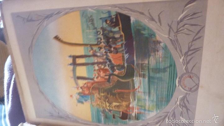 Libros antiguos: 2 tomos las hadas del mar . preciosas cromolitografias simon . ed verdaguer . 1878 ver fotos - Foto 16 - 57111615