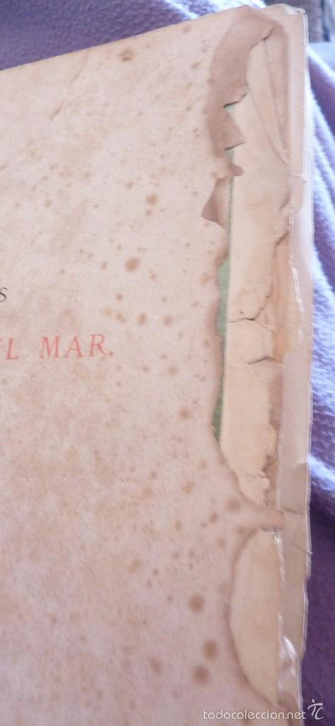 Libros antiguos: 2 tomos las hadas del mar . preciosas cromolitografias simon . ed verdaguer . 1878 ver fotos - Foto 21 - 57111615