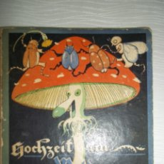 Libros antiguos: HOLST HOCHZIEIT IM WALDE. CUENTO ALEMAN 1921. EXTENSIBLE.. Lote 57154356