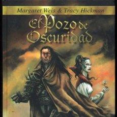 Libros antiguos: LA GEMA SOBERANA VOL 1 MARGARET WEIS TRACY HICKMAN. EL POZO DE OSCURIDAD. Lote 57222531