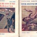 Libros antiguos: JULIO VERNE : VEINTE MIL LEGUAS DE VIAJE SUBMARINO - DOS TOMOS (BAUZÁ, C. 1930). Lote 57305477
