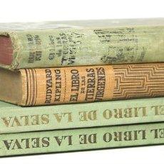 Libros antiguos: 7627 - EDITOR GUSTAVO GILI. 4 VOLÚMENES. (VER DESCRIP). RUDYARD KIPLING. 1908-1944.. Lote 57377634