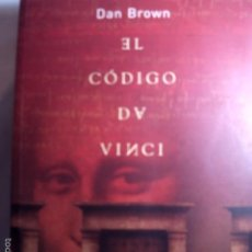 Libros antiguos: EL CÓDIGO DA VINCI DE DAN BROWN. MUY BUEN ESTADO DE CONSERVACION.. Lote 57481379