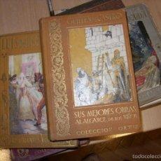Libros antiguos: LOTE LIBROS ANTIGUOS. Lote 57658973