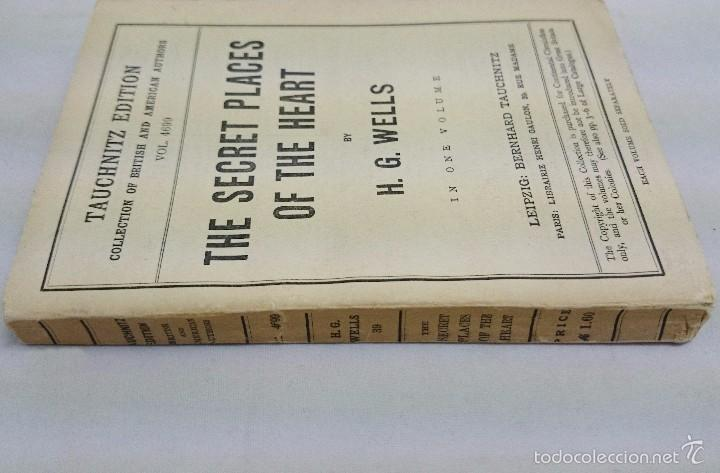 Libros antiguos: H. G. WELLS. THE SECRET PLACES OF THE HEART. LEIPZIG 1925 - Foto 3 - 57838167