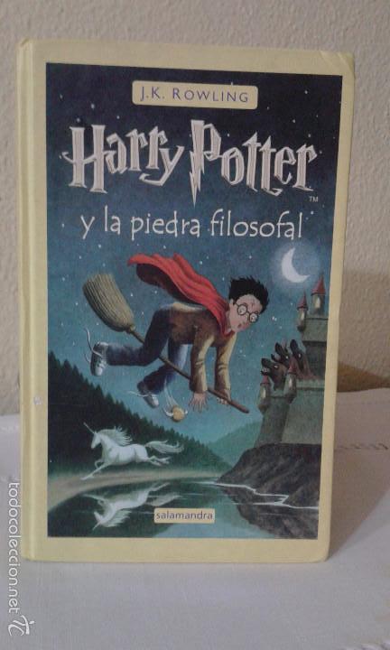 HARRY POTTER Y LA PIEDRA FILOSOFAL J.K. ROWLING (Libros antiguos (hasta 1936), raros y curiosos - Literatura - Narrativa - Ciencia Ficción y Fantasía)