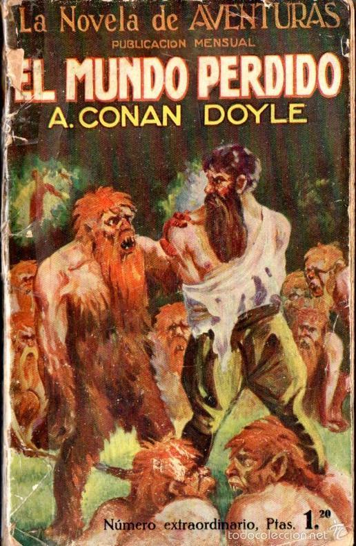 A. CONAN DOYLE : EL MUNDO PERDIDO (IBERIA, 1927) ILUSTRADO POR ALCALÁ (Libros antiguos (hasta 1936), raros y curiosos - Literatura - Narrativa - Ciencia Ficción y Fantasía)