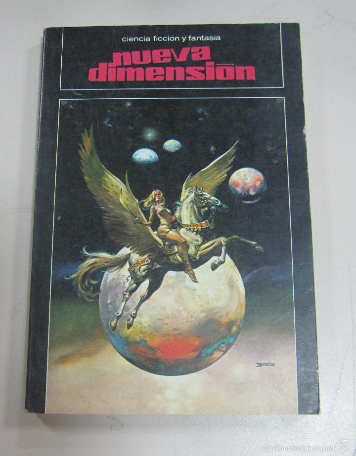 NUEVA DIMENSION. 116. EDICIONES DRONTE. 191 PAGINAS. 1979. (Libros antiguos (hasta 1936), raros y curiosos - Literatura - Narrativa - Ciencia Ficción y Fantasía)