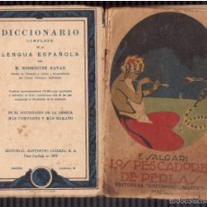 Libros antiguos: NOVELAS DE AVENTURAS SALGARI . Lote 59721815