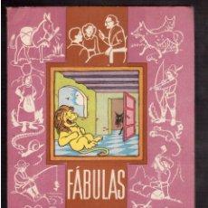 Libros antiguos: FABULAS ESCOGIDAS. Lote 59774624