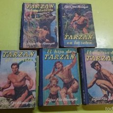 Libros antiguos: LOTE DE AVENTURAS DE TARZAN E.GUSTAVO GILI. Lote 59914579