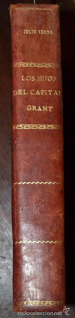 JULIO VERNE : LOS HIJOS DEL CAPITÁN GRANT - DOS TOMOS EN UN VOLUMEN ENCUADERNADO (SOPENA, C. 1935) (Libros antiguos (hasta 1936), raros y curiosos - Literatura - Narrativa - Ciencia Ficción y Fantasía)