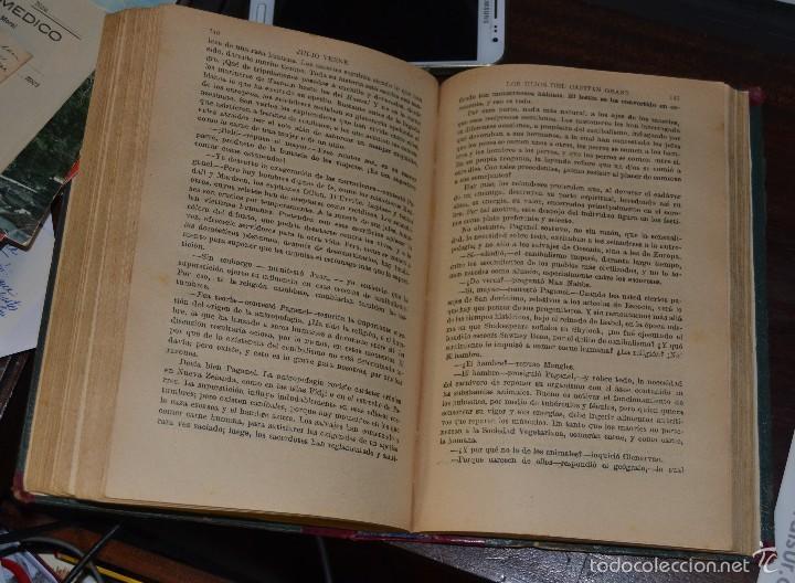 Libros antiguos: JULIO VERNE : LOS HIJOS DEL CAPITÁN GRANT - DOS TOMOS EN UN VOLUMEN ENCUADERNADO (SOPENA, c. 1935) - Foto 6 - 60136647
