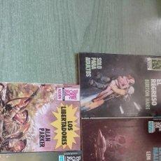 Libros antiguos: LOTE DE 5 NOVELAS DE BRUGUERA Y ECSA CONQUISTA DEL ESPACIO Y METRALLA. Lote 60261875