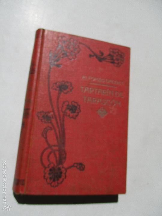 ALFONSO DAUDET, AVENTURAS MARAVILLOSAS DE TARTARÍN DE TARASCÓN-1908- EDT: MAUCCI (Libros antiguos (hasta 1936), raros y curiosos - Literatura - Narrativa - Ciencia Ficción y Fantasía)