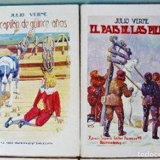 Libros antiguos: 6 NOVELAS DE JULIO VERNE. BIBLIOTECA DE GRANDES NOVELAS. EDITORIAL SOPENA. 1935. VER RESTO IMÁGENES.. Lote 61544032