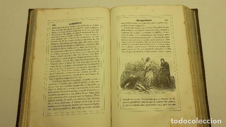 Libros antiguos: LAS AVENTURAS DE TELEMACO SEGUIDAS DE LAS DE ARISTONOO 1843. - Foto 3 - 64294823
