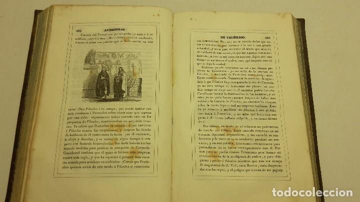 Libros antiguos: LAS AVENTURAS DE TELEMACO SEGUIDAS DE LAS DE ARISTONOO 1843. - Foto 6 - 64294823