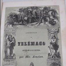 Libros antiguos: LAS AVENTURAS DE TELEMACO SEGUIDAS DE LAS DE ARISTONOO 1843.. Lote 64294823